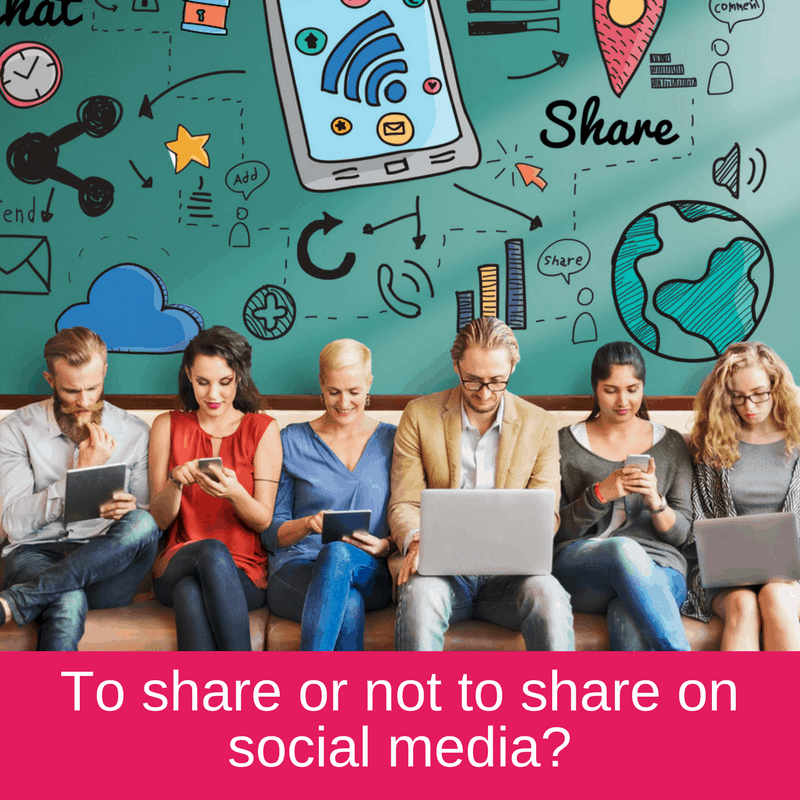 to share or not to share on social media