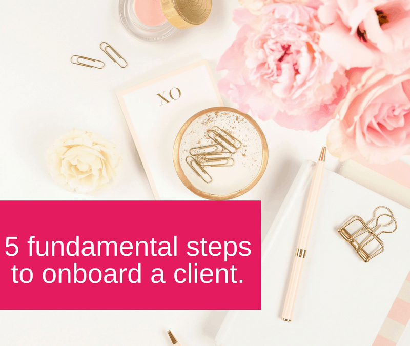 Become a better Virtual Assistant and learn how to onboard your clients with ease - VACT Blog post