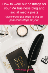 hashtags for your VA business