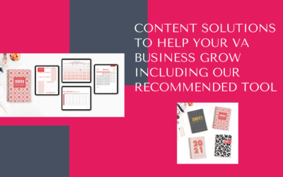 Content solutions to help your VA business grow