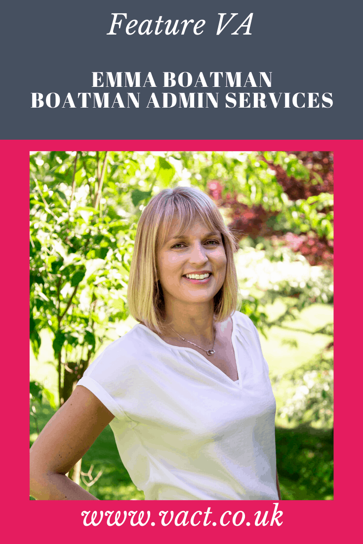 Wednesday Wisdom - Emma Boatman, Boatman Admin Services