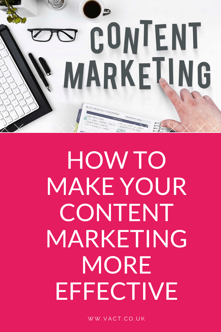 How to make your content marketing more effective