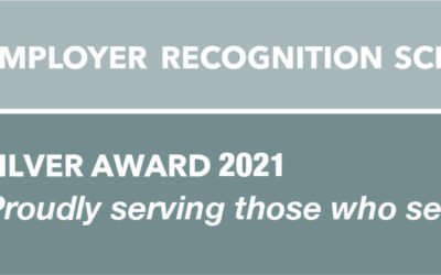 Armed Forces Covenant: Silver Employer Recognition Scheme Award!